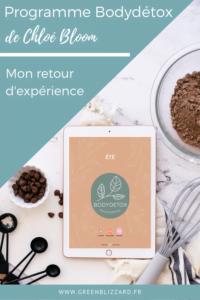 Programme Bodydétox Chloé Bloom : mon retour d'expérience